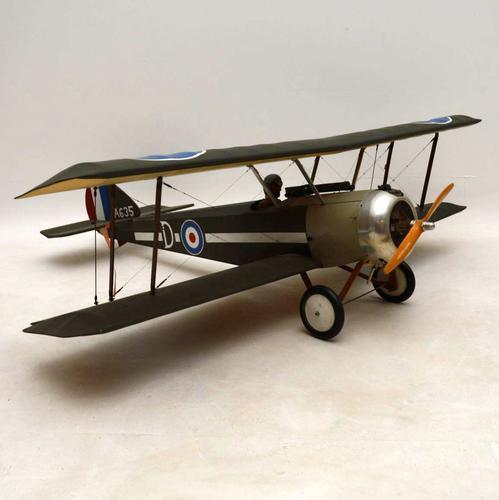 Vintage RAF Model Fighter Biplane (1 of 1)