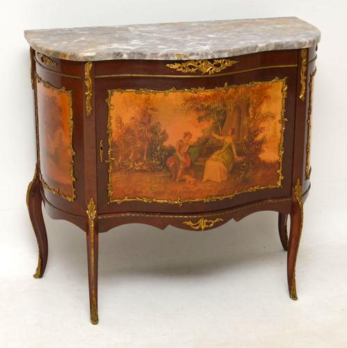 French Marble Top Cabinet c.1920 (1 of 1)