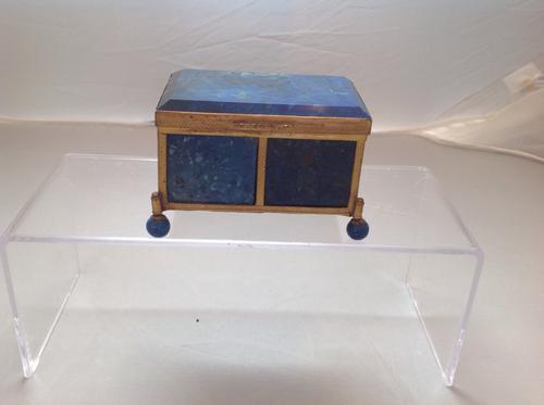 Lapis Lazuli Box with Gilt Bronze Mount (1 of 1)