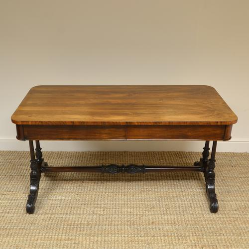 Beautiful Large Victorian Antique Rosewood Partners Writing Table (1 of 7)
