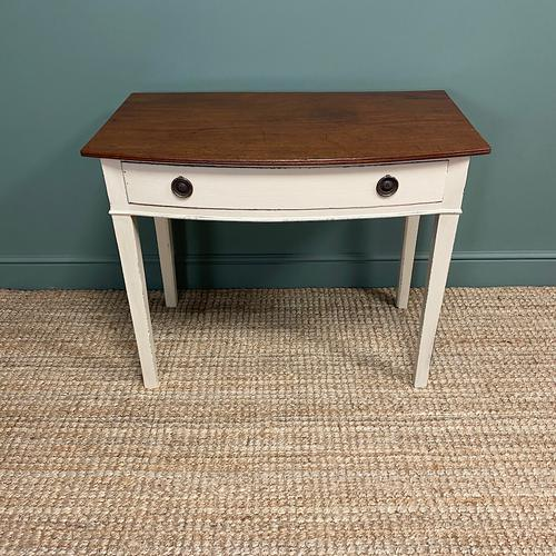Country Painted Victorian Antique Side Table (1 of 6)