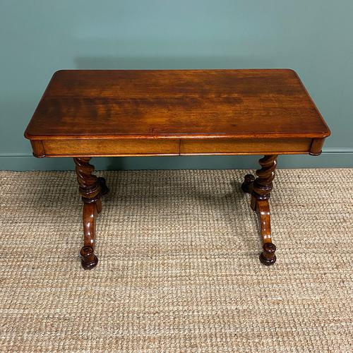 Stunning Antique Mahogany Library Table by Charles Hindley & Sons (1 of 8)