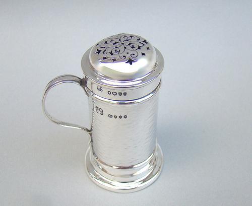 Arts & Craft Silver Kitchen Pepper by  Hukin & Heath, London 1886 (1 of 5)