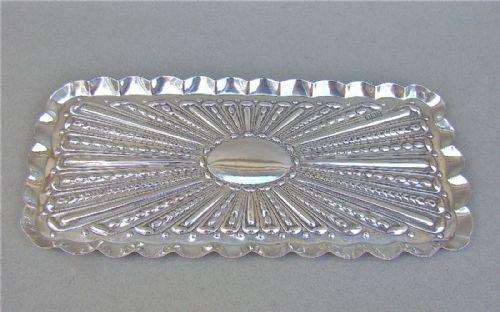 Edwardian Silver Dressing Table Tray by William Comyns, London 1902 (1 of 1)
