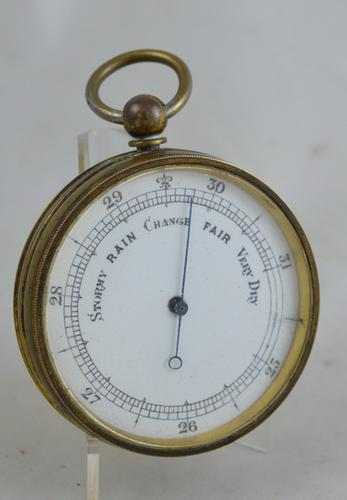 English Pocket Barometer (1 of 2)