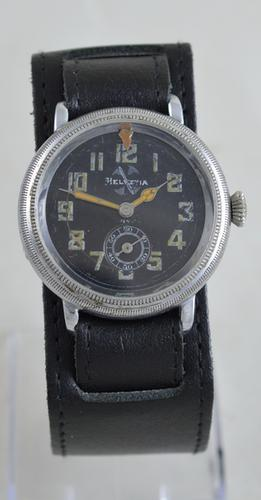 1930s Helvetia German Pilots Watch (1 of 5)