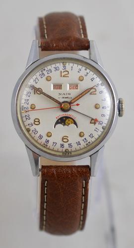 Nais Triple Date Wristwatch (1 of 5)