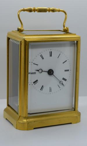 Early One Piece Case Carriage Clock (1 of 4)