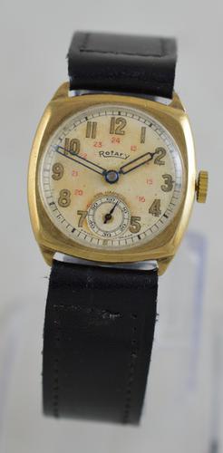 1942 9K Rotary Wristwatch (1 of 5)