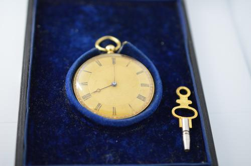 An Arnold & Frodsham 18K Gold Midsize Pocket Watch (1 of 5)