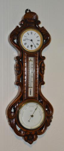 Victorian Clock Barometer (1 of 4)