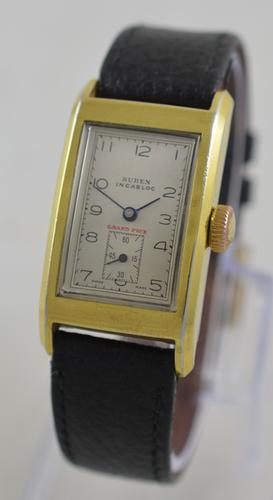 1930s Buren Grand Prix Wristwatch (1 of 6)