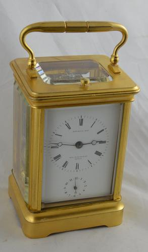 Bourdin Clockmaker to the King Strike / Repeat Carriage Clock (1 of 6)