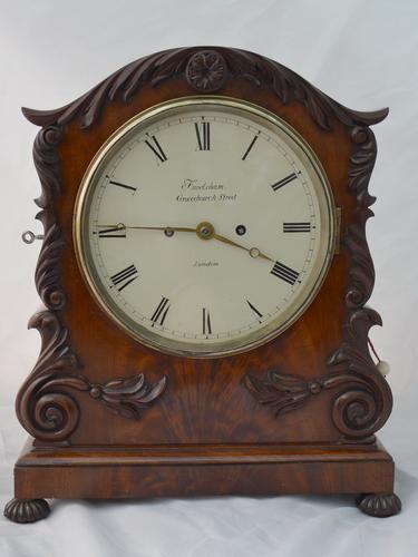 Frodsham of London Twin Fusee Bracket / Table / Mantel Clock (1 of 6)