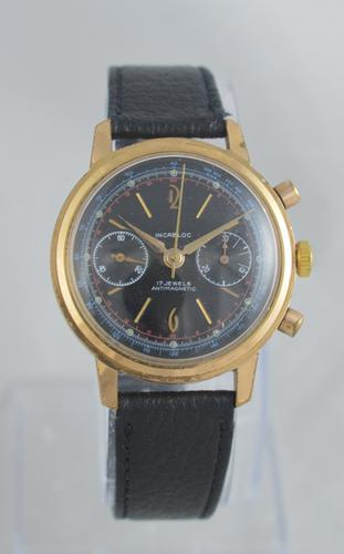 1960s Landeron Cal 51 Chronograph Wristwatch (1 of 5)