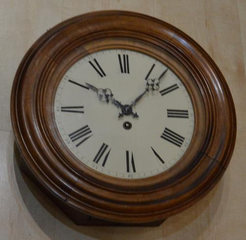 French Dial Wall Clock c.1870 (1 of 3)