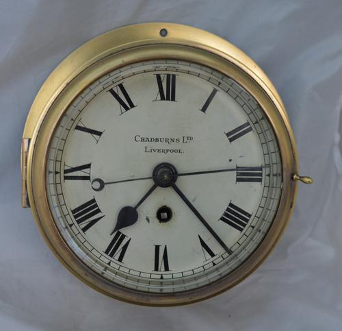 Chadburns of Liverpool Quality Fusee Ships Clock (1 of 4)