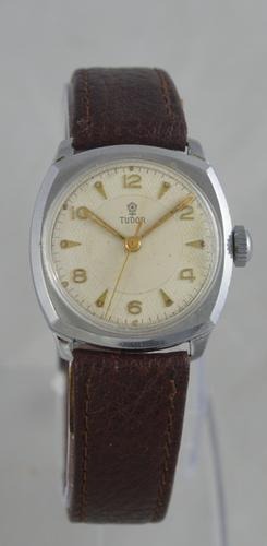 1950s Tudor 'Cushion' Cased Wristwatch (1 of 6)