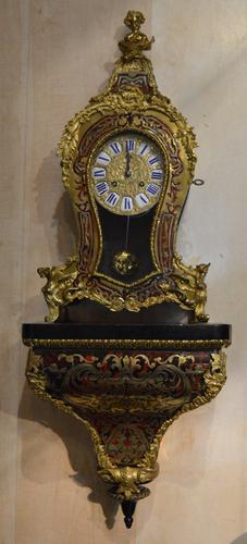 French Boulle Bracket Clock c.1885 (1 of 1)