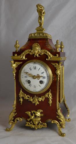 French Ormolu Mantel Clock C.1890 (1 of 1)
