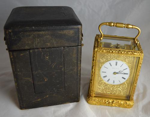 Early French Carriage Clock, Henry, Paris c.1850 (1 of 1)
