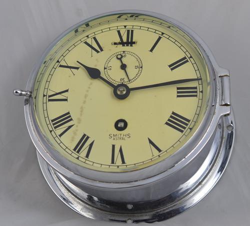English Smiths Ships Wall Clock c.1935 (1 of 1)