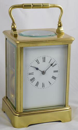 Antique French Striking Carriage Clock c.1895 (1 of 1)