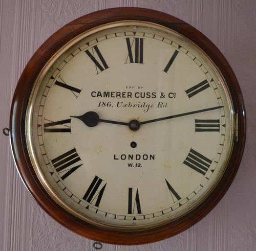 Camerer Cuss, London Fusee Dial Clock c.1860 (1 of 1)