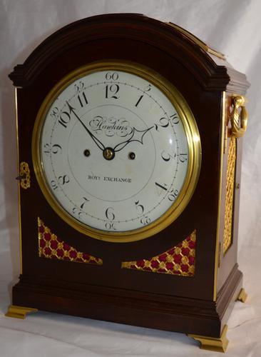 Hawkins, Royal Exchange Bracket Clock C.1810 (1 of 1)