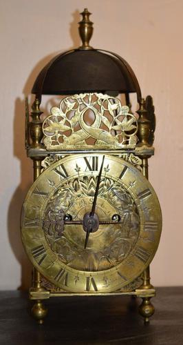 17th Century Converted Lantern Clock (1 of 1)