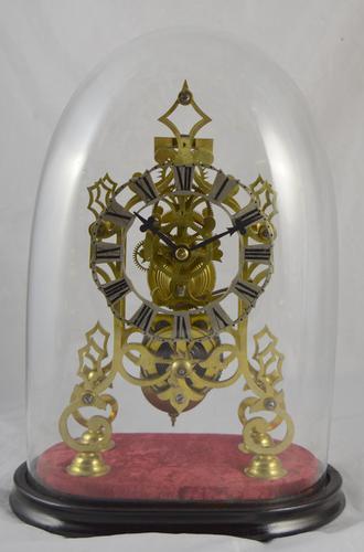 English Fusee Skeleton Clock C.1870 (1 of 1)