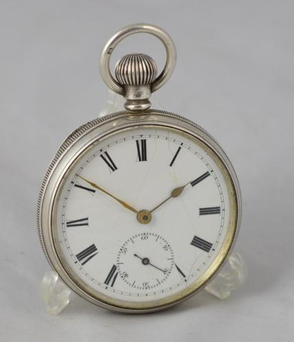 1905 Silver Pocket Watch (1 of 1)
