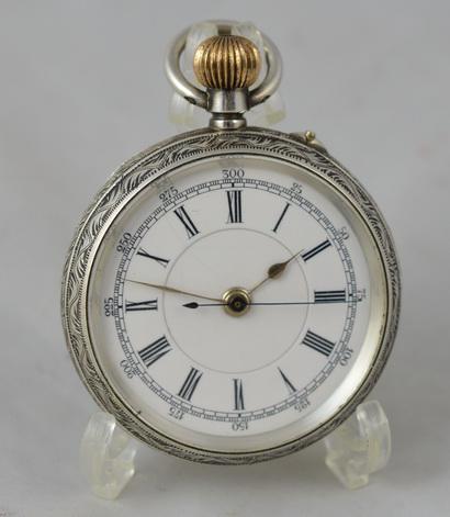 Swiss Silver Pocket Watch c.1895 (1 of 1)