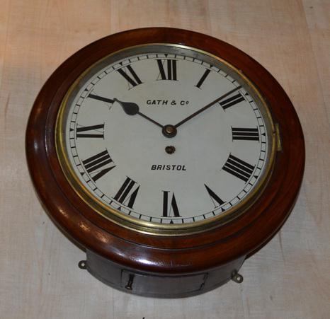Thomas Gath & Co of Bristol Dial Clock c.1885 (1 of 1)