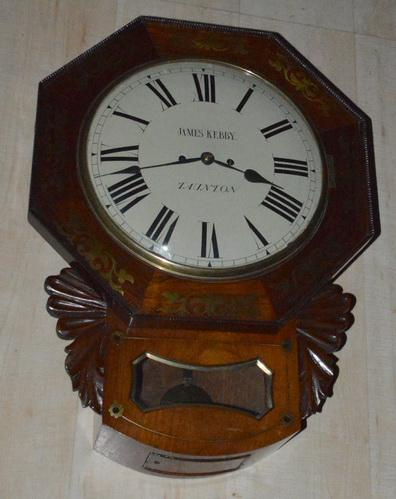 Kebby of Taunton Double Fusee Wall Clock (1 of 1)