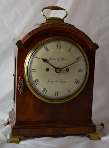 Desbois & Wheeler London Georgian Bracket Clock (1 of 1)