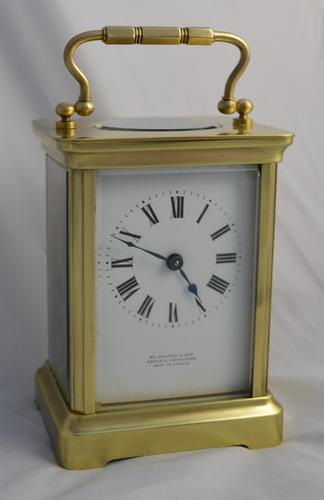 French Timepiece Carriage Clock c.1895 (1 of 1)