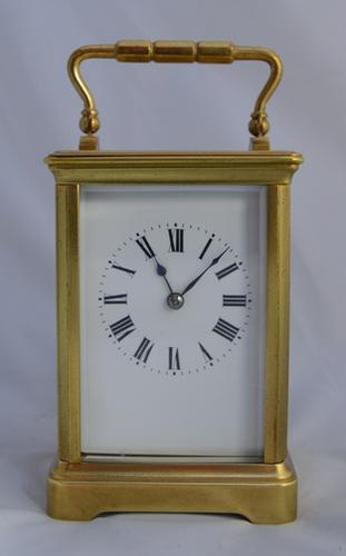 French Striking Carriage Clock c.1890 (1 of 1)