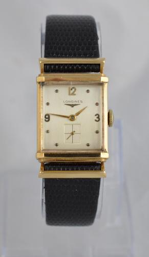 14K Gold Longines Wristwatch 1949 (1 of 1)