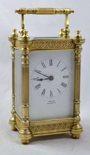 French Decorative Carriage Clock c.1900 (1 of 1)