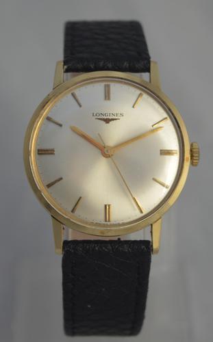 1966 Longines 9K Gold Watch (1 of 1)