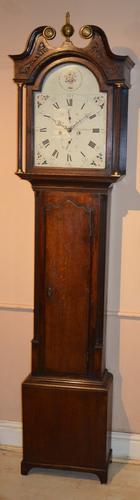 Longcase Grandfather Clock Coutts Burntisland Scotland (1 of 1)