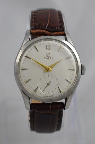 1953 Omega Stainless Steel Wristwatch (1 of 1)