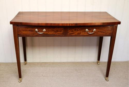 Late Victorian Mahogany Side Table (1 of 9)