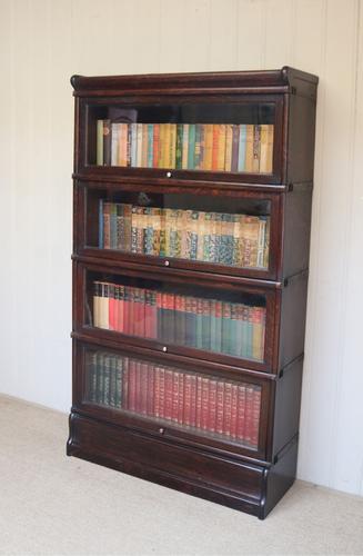 Dark Oak Globe Wernicke Bookcase C.1910 (1 of 11)