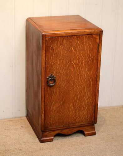Vintage Oak Bedside Cabinet (1 of 8)