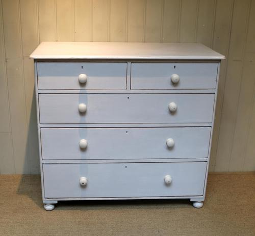 Victorian Painted Chest of Drawers (1 of 9)