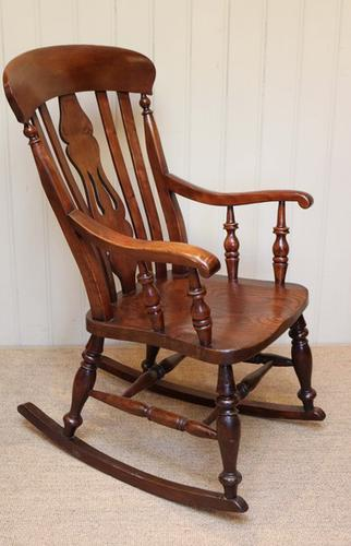 Farmhouse Rocking Chair, English c.1890 (1 of 1)