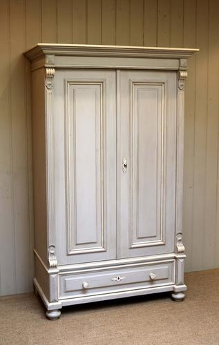 Late 19th Century Continental Painted Wardrobe, East Europe (1 of 1)