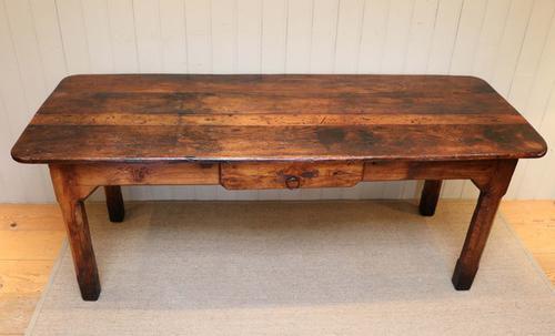 French Oak Farmhouse Table c.1900 (1 of 1)